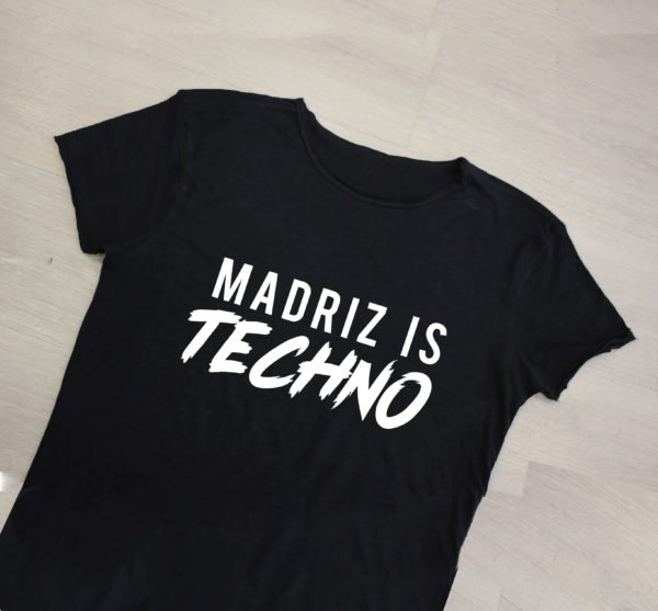 camiseta madriz is techno